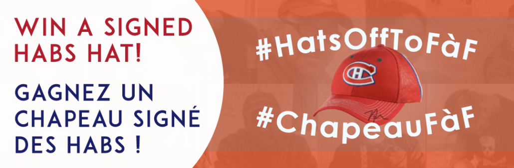 Win Signed Habs Hat